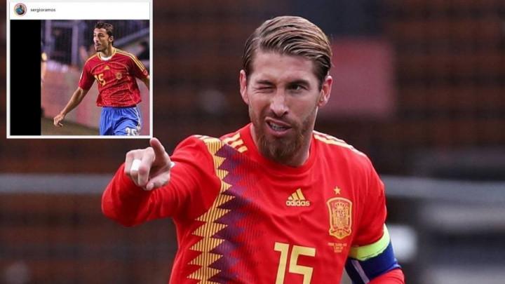 Sergio Ramos na Instagramu objasnio zbog čega u reprezentaciji nosi dres s brojem 15