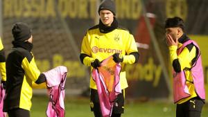 Mnogima nije bilo jasno zašto Haaland nije u sastavu, a onda je stiglo objašnjenje iz Dortmunda