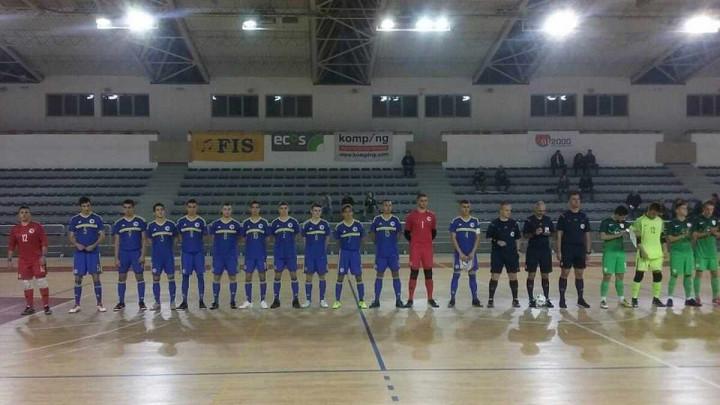 Juniorska futsal reprezentacija BiH remizirala sa Slovenijom