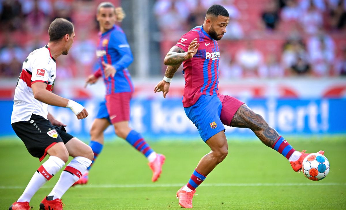 Depay zablistao protiv Stuttgarta, Pjanić igrao u finišu utakmice