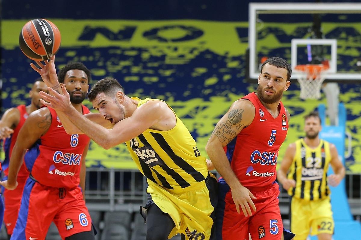 U euroligaškom klasiku CSKA nakon produžetka slavio protiv Fenerbahcea