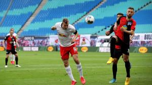 Četiri gola i podjela bodova u meču Leipziga i Herthe, Ibiševiću 78 minuta i jedna sjajna šansa