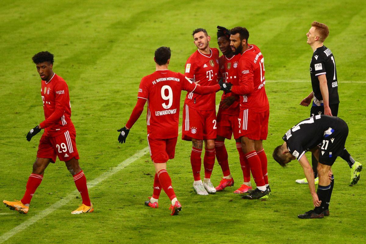 Poznati vjerovatni sastavi Lazija i Bayerna