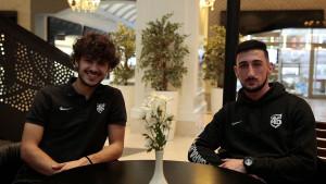 Mladi duo FK Sarajevo: Nastojimo biti još jači