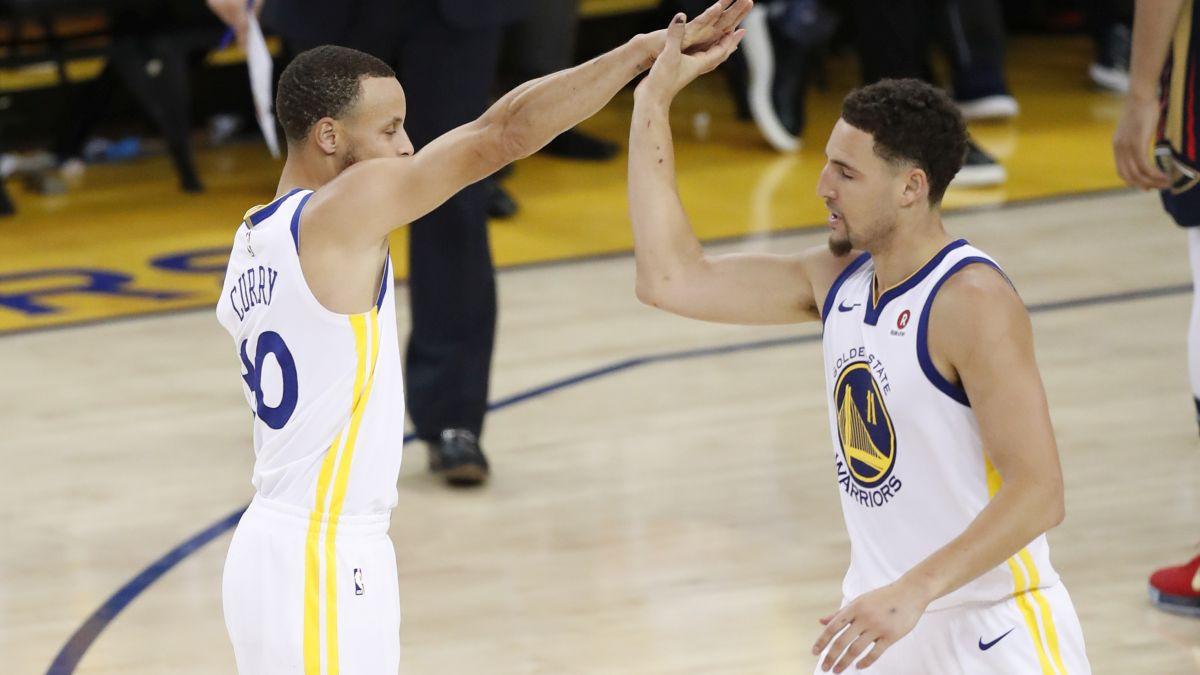 Thompson: Postoji još mnogo pritiska; Curry: Okrenuli smo novi list