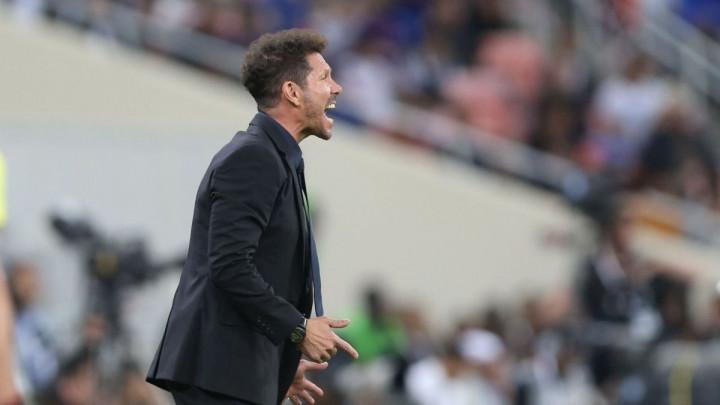 """Simeone Valverdeu """"čestitao"""" na potezu kojim je spriječio gol"""
