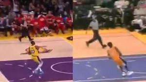 Isti koš, isto zakucavanje, ali 19 godina kasnije: James kopirao potez Kobeja Bryanta