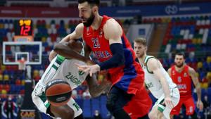 CSKA bez većih problema savladao Žalgiris