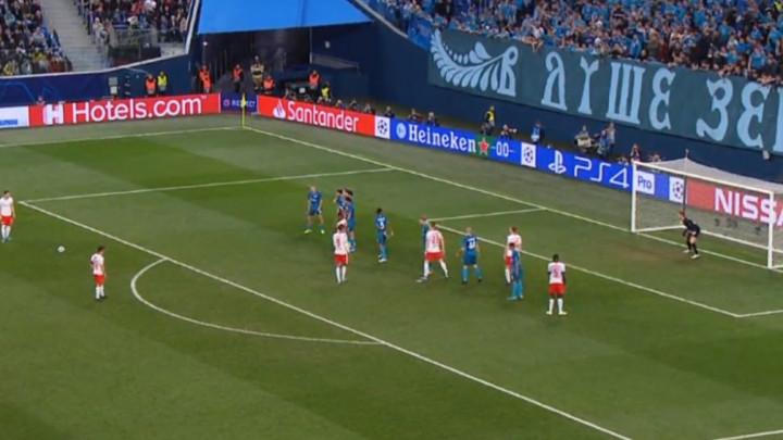 Dok se čeka neka magija Messija, postignut lijep gol u duelu Zenita i Leipziga