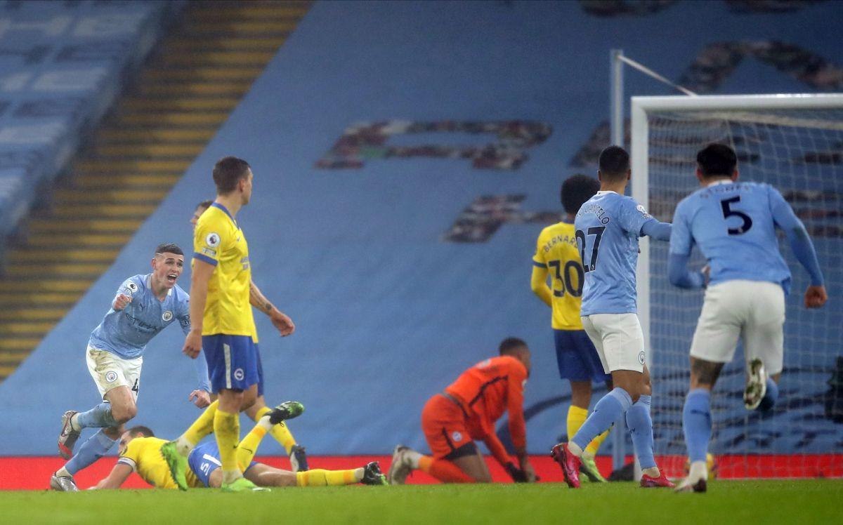 Foden donio Cityju pobjedu protiv Brightona