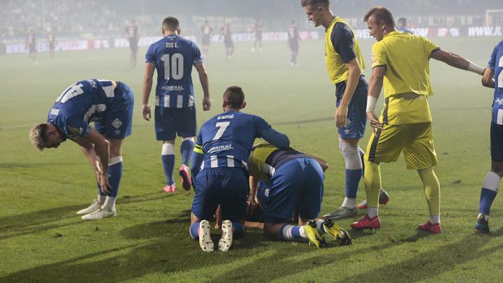 Sinoć je na Grbavici fudbaler Željezničara ispunio dječački san