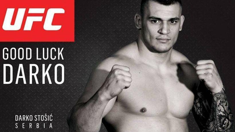 Darko Stošić potpisao za UFC