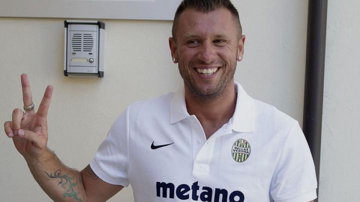 Antonio Cassano se vraća iz penzije i potpisuje za posrnulog velikana?