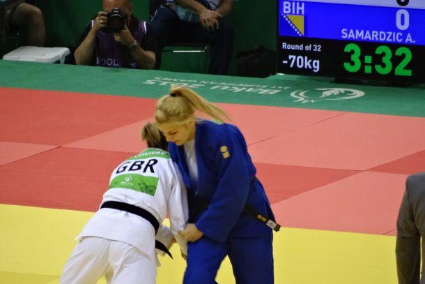 Samardžić završila takmičenje u Bakuu