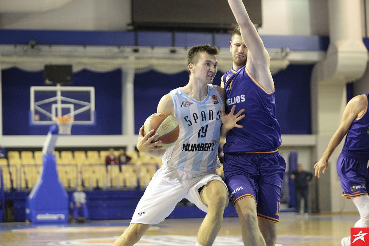 Sparsi i dalje bez pobjede u ABA ligi 2, Helios slavio u Sarajevu