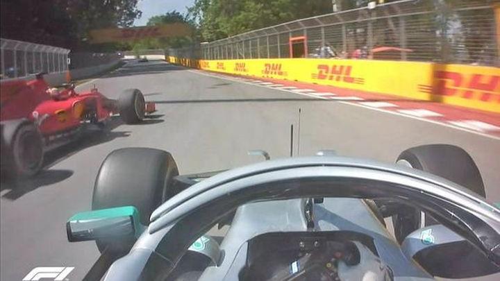 Trenutak koji je odlučio utrku: Da li je Vettel napravio prekršaj za kaznu?