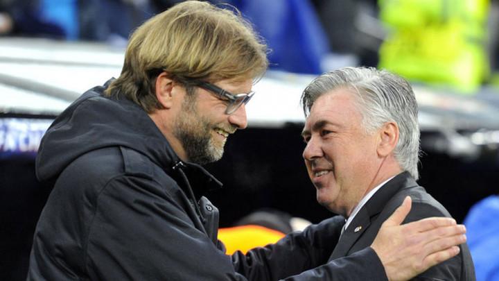 Klopp i Ancelotti su toliko dobri da Nijemac želi da Italijan useli u kuću pored njegove