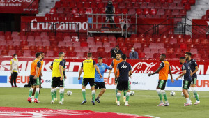 To ne bi bilo to da Betis nije imao paklen doček na stadion Sanchez Pizjuan