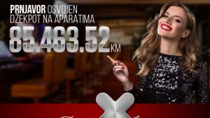 Diamond Jackpot! Isplaćeno 85.463,52 KM na MOZZART aparatima!