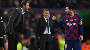 Messi je sinoć imao žestok okršaj sa trenerom Mallorce