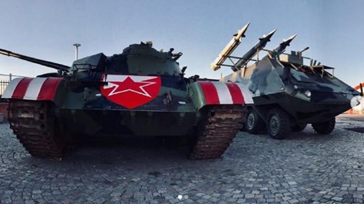 Nakon tenka i bacač raketa dovezen na Marakanu
