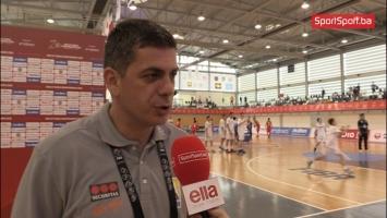 Numanović: Psihički smo se teško vratili nakon poraza