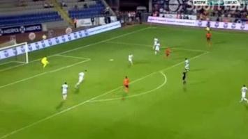 Višća strijelac za Basaksehir protiv Club Bruggea