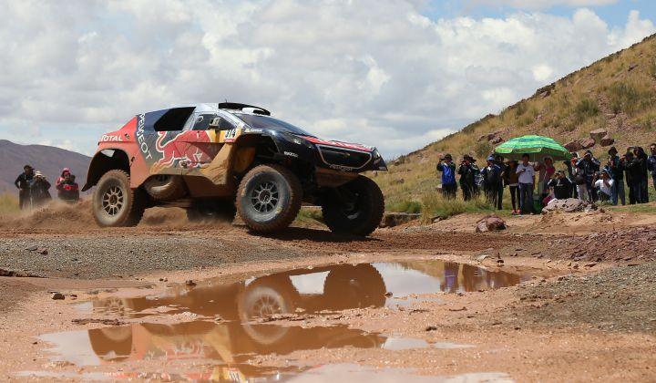 Peterhanselu četvrta etapa relija Dakar