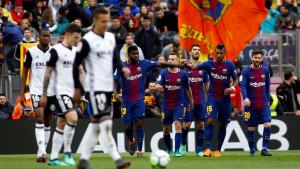 Barcelona se oporavila nakon šoka od Rome, pa pobijedila Valenciju