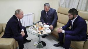 Vladimir Putin primio Khabiba: Svi mi možemo preskočiti ogradu!