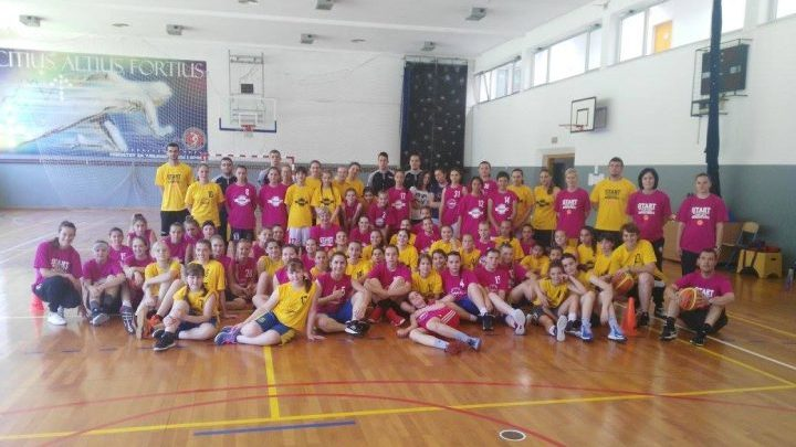 "Završen projekat ""Start with love, start with basketball"""