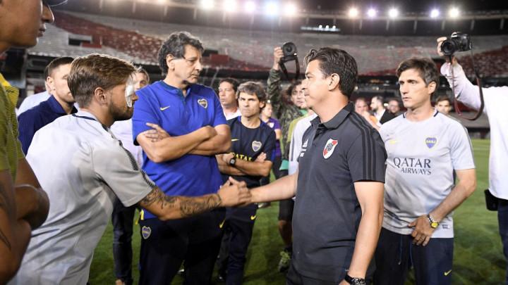 Junak večeri bio je trener Rivera: Gallardo oduševio i navijače Boce
