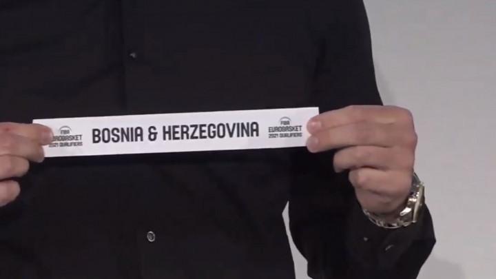 Košarkaši BiH saznali protivnike u kvalifikacijama za Evropsko prvenstvo