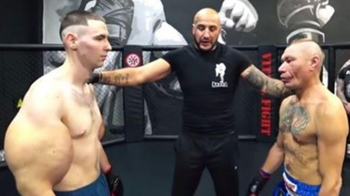 Ruski Popaj debitovao u MMA i izdržao samo tri minute, a uskoro bi mogao ostati bez ruku
