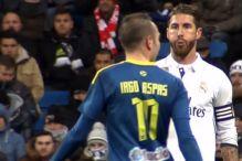 Bezobrazno: Ramos pljunuo fudbalera Celte