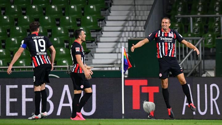 Werder tone sve dublje: Frankfurt ubjedljivo slavio u Bremenu