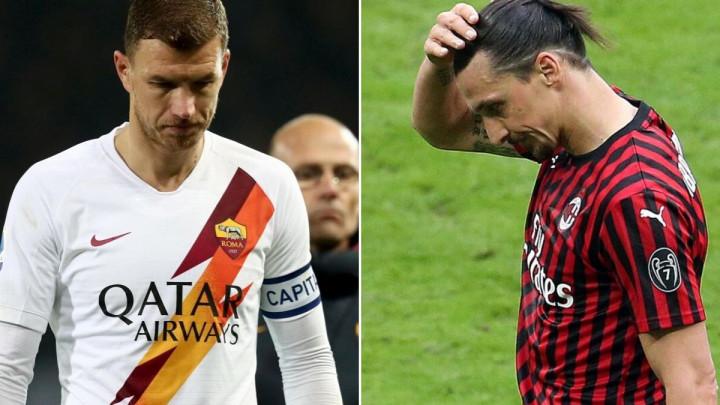 Ništa od okršaja Ibrahimovića i Džeke na San Siru