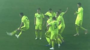 Jeste li vidjeli Gojakovu proslavu gola? I saigrač ga je čudno gledao...