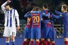 Barcelona konačno slavila u San Sebastianu