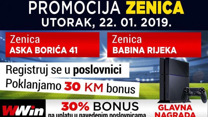 Registrujte se u utorak u Wwin poslovnicama u Zenici i osvojite Play Station 4 kao i vrijedne bonuse