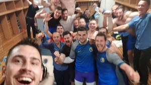 Pobjednički selfie!