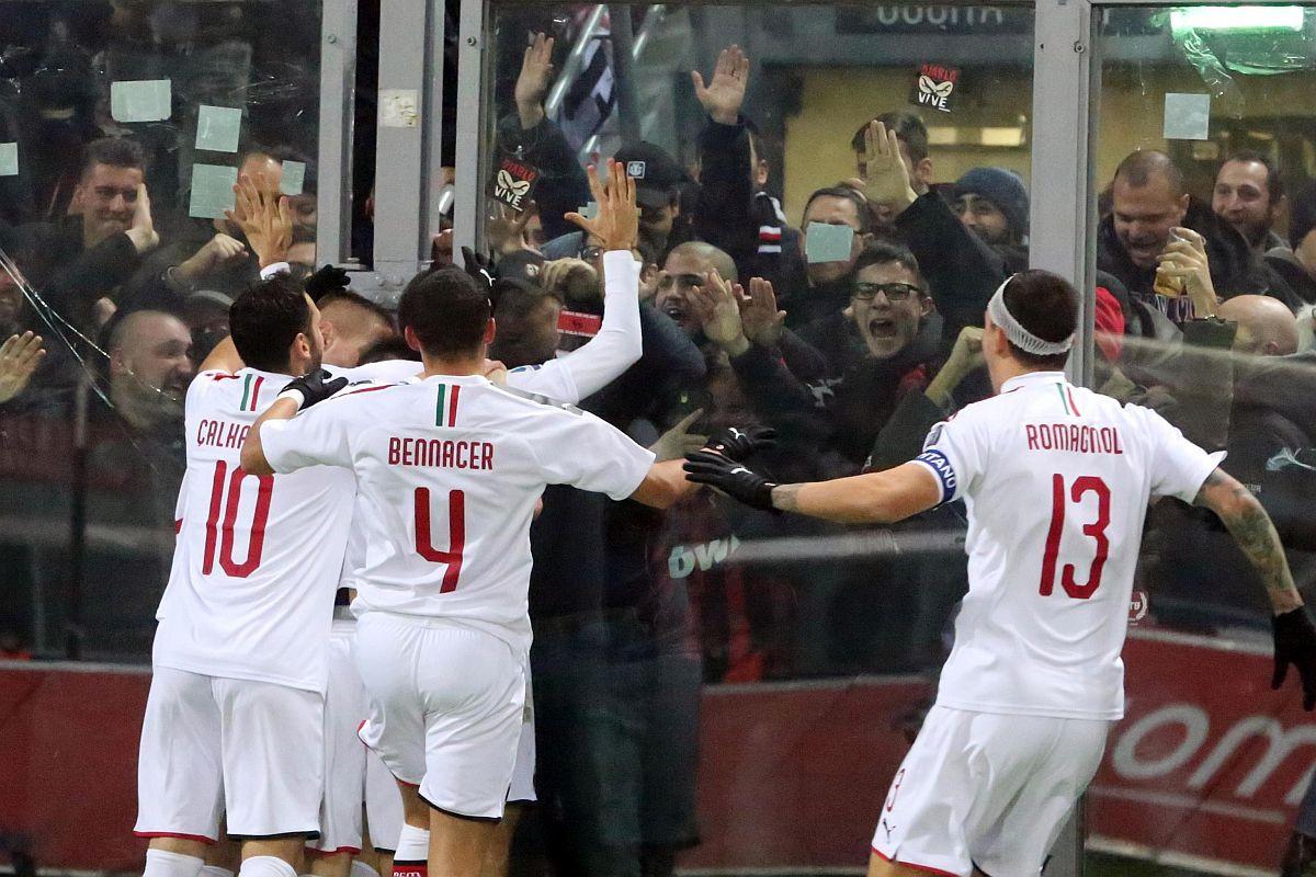 Milan slavio i protiv Bologne, Krunić presjedio na klupi