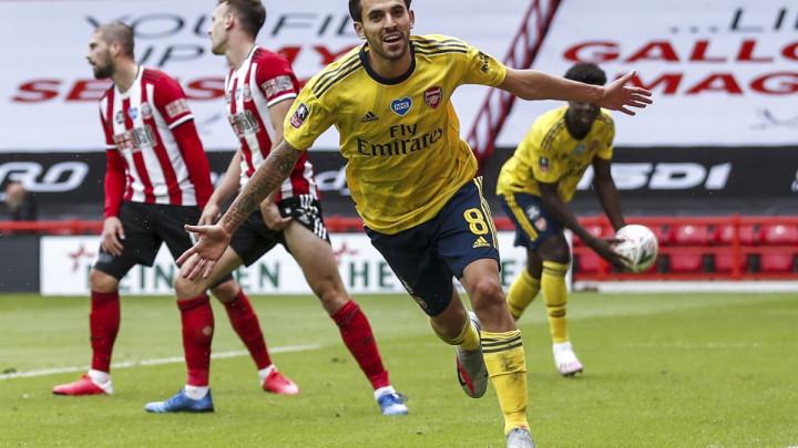 Ceballos u nadoknadi odveo Arsenal u polufinale, Kolašincu 90 minuta