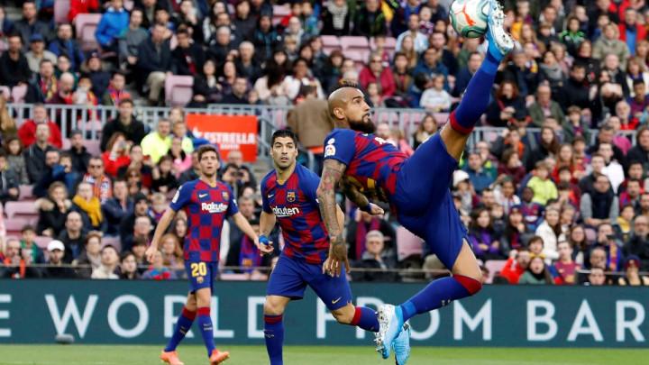 Barcelona upropastila Vidalov nestvarni niz