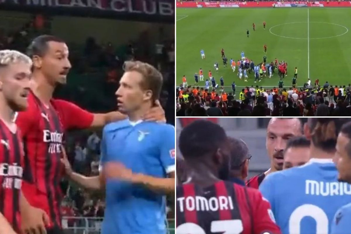 Haos u Milanu: Sarri dobio crveni karton, a onda krenuo u verbalni sukob s Ibrahimovićem