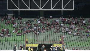 Na dva sarajevska stadiona sinoć je ukupno bilo nešto manje od 10 hiljada navijača