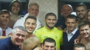 Dobili tešku utakmicu, pa im u svlačionicu došao Khabib
