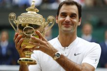 Federer: Sjajno je držati ovaj trofej