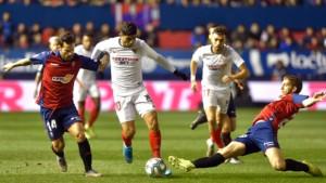 Sevilla se ispromašivala protiv Osasune i prekinula niz pobjeda