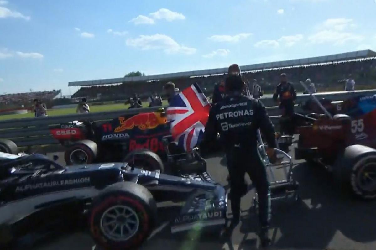 Hamilton izbacio Verstappena iz utrke, a onda tokom proslave provocirao Red Bull